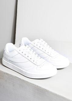 c4425d404 Leren sneakers met veters - Dames