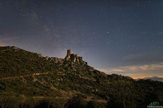 Le château de Quéribus, Aude, France by PhilippeContal