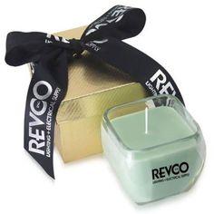 Gold Box Ribbon 11 Oz Candle II, private label. #femmepromo #scentedcandles #privatelabelcandles #promocandles #customcandles