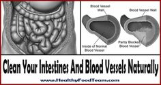 Clean your intestines and blood vessels naturally