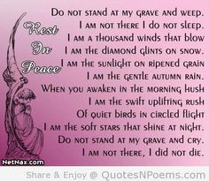 Quotes & Sayings & Phrases » Sad Quotes About Death Of A Grandma