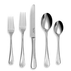 My flatware Cambridge® Silversmiths Province Mirror Flatware 5-Piece Place Setting