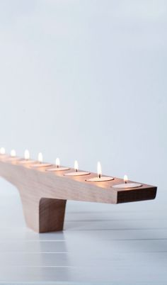 We love this funky but simple tea-light holder from Form & Fable