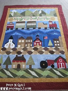 row quilting