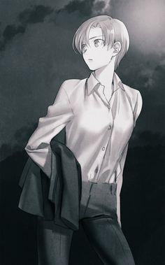 Type Moon Anime, Shirou Emiya, Miyamoto Musashi, Fate Stay Night, Character Art, Concept Art, Short Hair Styles, Mole, Names