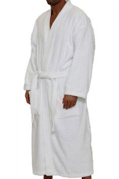 f540f016a1 Terry Kimono Robe. 100% Cotton Terry Cloth Inside   Outside. Super  Absorbent.