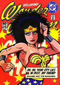 The Hidden Life Superheroes in the Pop Art