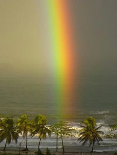 Prism reflection in Aguada, Puerto Rico