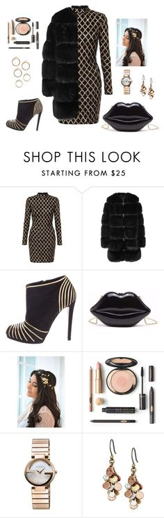 """Untitled #55"" by emina-mujic-1 ❤ liked on Polyvore featuring Givenchy, Sergio Rossi, Gucci and Lucky Brand"