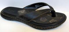 BORN B.O.C. Black Thong Sandal BC63322 Size 36.5/US 6 #Born #FlipFlops