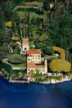 Villa Del Balbianello estate at Lake Como, Italy