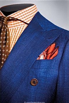 by Cifonelli in Paris, arguably the best cutter and tailors in the world