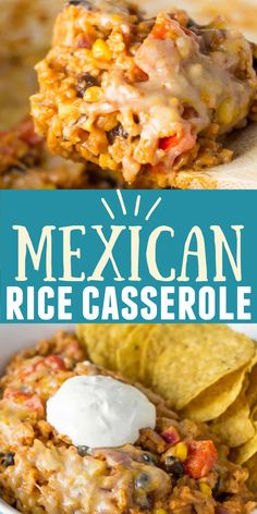 Mexican Dishes, Mexican Food Recipes, Beef Recipes, Vegetarian Recipes, Cooking Recipes, Mexican Cheese, Best Mexican Rice And Beans Recipe, Chipotle Recipes, Mexican Pasta