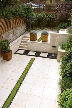 Contemporary Architectural Garden | Charlotte Rowe Garden Design