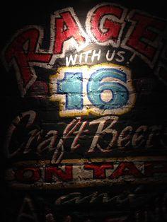 Ragin Burrito Wall Craft Beer