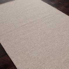 Jaipur Highlanders Inverness Light Mushroom/Oyster Gray Flat Weave Rug @Zinc_Door