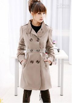 Wholesale cheap trench coat online, brand - Find best 2011 fashion women's trench coat wind-coat slim lady's long coat lady's outerwear 1pcs free shipping at discount prices from Chinese trench coats supplier - memedingar on DHgate.com.