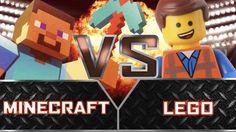 Minecraft VS Lego YouTubers Decide