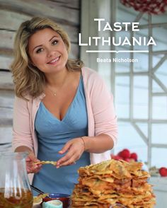 "Beata Nicholson. Taste Lithuania Cooking for family and friends is pure joy for Beata, a Lithuanian-born journalist who turned her passion for food prepared with love and kindness into career. ""Taste Lithuania"" is her first book in English. This book is about the essence of Lithuanian home cooking, It is an ivitation to discover Lithuania through its enduring culinary traditions."