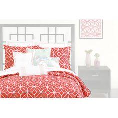 Trina Turk Residential 3 Piece Comforter Set in Coral & Reviews | Wayfair