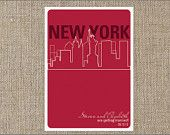 NYC Save the Date Wedding Save The Dates, Event Planning, Dating, Nyc, Etsy Shop, Handmade Gifts, How To Plan, Kid Craft Gifts, Quotes