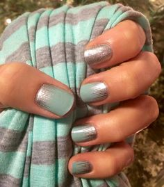 Jamberry Iced and Diamond Dust Sparkle. The perfect combination. karasmith.jamberrynails.net