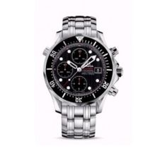 Omega Seamaster Diver Chronograph Black Dial. http://bit.ly/13IN9aj