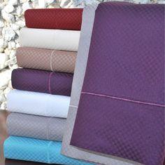 800TC Cotton Rich Microchecker Sheet Sets by Impressions
