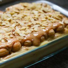 Pavê de doce de leite com amêndoas @ allrecipes.com.br
