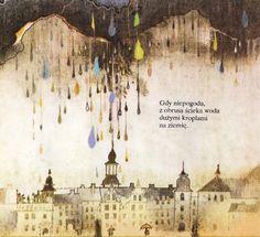 Vintage Soviet Children's Book Illustration - Rainbow Palace