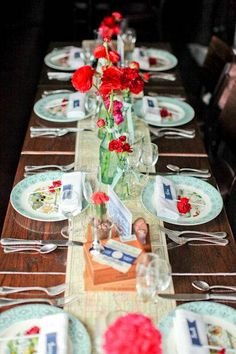 Rustic Americana wedding | ... Centerpieces | Vintage Americana Wedding | DIY Wedding Planning