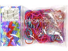 Mermaid Theme (Silicone) | Rainbow loom