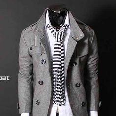 Gray Blazer DHaunapparels.com