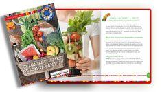 wintergerecht: Gegrilde groente met avocadodressing