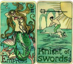 Dame Darcy's Mermaid Tarot Overview