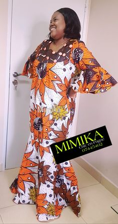 African Attire, African Wear, African Fashion, Long African Dresses, Kaftan, Skirt Set, Wax, Fashion Dresses, Couture