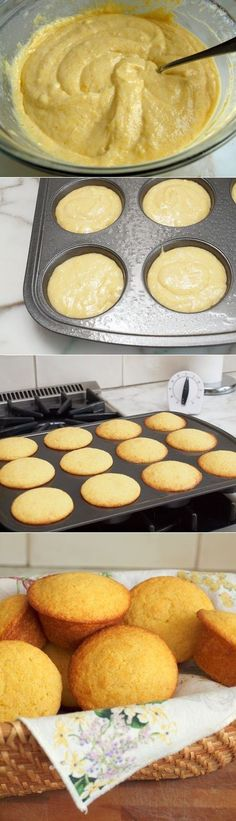 Ingredients 3/4 cup yellow cornmeal 1-1/4 cups all-purpose flour, spooned into measuring cup and leveled-off 1 tablespoon baking powd...