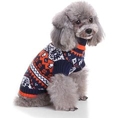 LINGERY Halloween Fashion Comfortable Pet Clothes Festival Dress Sweater Knitwear * Click on the image for additional details. (This is an affiliate link) #DogApparelAccessories