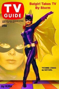 Yvonne Craig as Barbara Gordon / Batgirl: Batman TV Series) Adam West Batman, Batman Y Robin, Batman And Batgirl, Batman 1966, Batman Show, Batman Tv Series, Yvonne Craig, James Gordon, Nostalgia