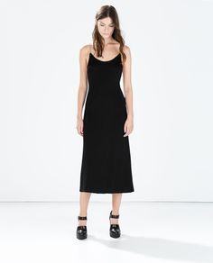 Image 1 of STRAPPY DRESS from Zara