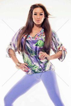 MissQ Happy Colours Purple Blouse