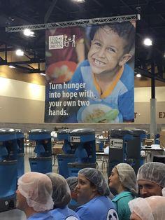 ACI AZ Crew volunteering with Feed My Starving Children