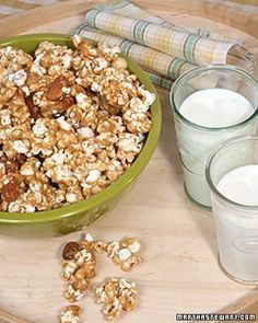 Art home made Christmas gifts,,,,, Caramel-Almond Popcorn christmas-gifts-decorating-etc