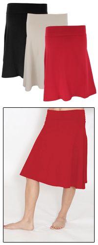 Organic Cotton Swing Skirt-Globalgirlfriend.com- Fair trade clothing