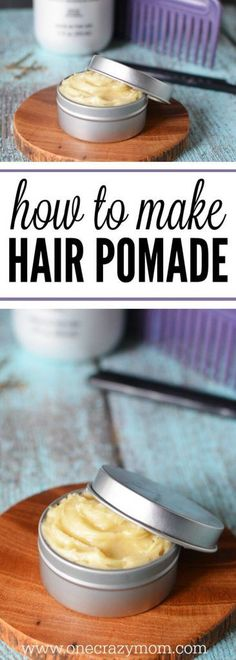 You will love this homemade hair pomade. Once you learn how to make hair pomade, you will love making natural hair products!
