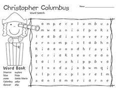 Christopher Columbus Classroom Freebies, Classroom Activities, My Father's World, English Fun, Teaching Social Studies, Christopher Columbus, School Holidays, Holiday Activities, Kindergarten Worksheets