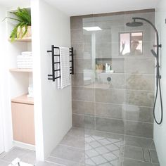 The Sleek and Stylish Wet Rooms for a Trendy Look! Upstairs Bathrooms, Laundry In Bathroom, Bathroom Renos, Basement Bathroom, Simple Bathroom, Bathroom Furniture, Bathroom Renovations, Bathroom Ideas, Bathroom Windows