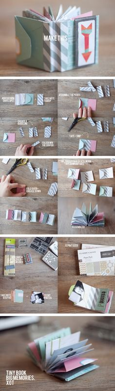 Making mini book