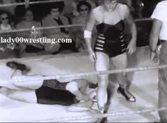 www.lady00wrestling.com 1950's Women Wrestling DVDs and Pictures