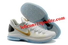 best sneakers de631 d6580 Buy Nike Zoom KD V Elite Whitegold Klein Durant Basketball Shoes For Men  In 93990 from Reliable Nike Zoom KD V Elite Whitegold Klein Durant  Basketball ...